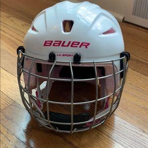 Bauer Girls Lil Sport [Size: 6] Hockey Helmet